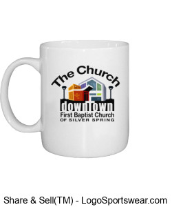 Church Coffee Mug Design Zoom