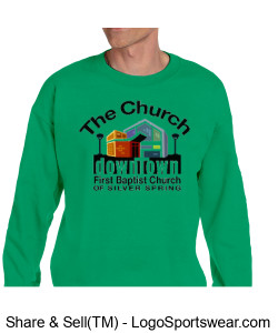 Church Sweat Shirt Adult Sizes Design Zoom