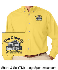 Church Dress Shirt Design Zoom
