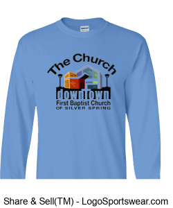 Church Long Sleeve T-Shirt Design Zoom