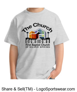 Church T-Shirt Youth Sizes Design Zoom